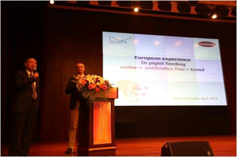 Participation of Lallemand to the 4th National Chinese meeting on creep feed and prestarter feed.