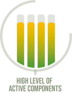 agrimos high level of active components icon
