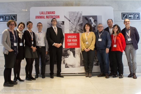 Photo intervenants conférence bovins viande Lallemand Animal Nutrition Blanca