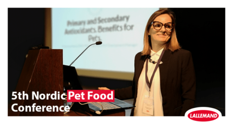 5th nordic pet food conference in porto with francesca susca
