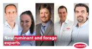 new ruminant and forage experts for Lallemand Animal Nutriton