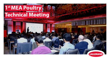 Lallemand Animal Nutrition first MEA poultry technical meeting in istanbul, turkey