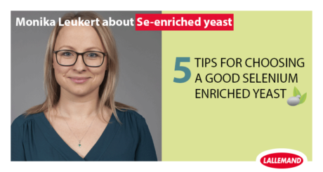 monika leukert from lallemand animal nutrition gives us 5 tips on how to select selenium enriched yeast