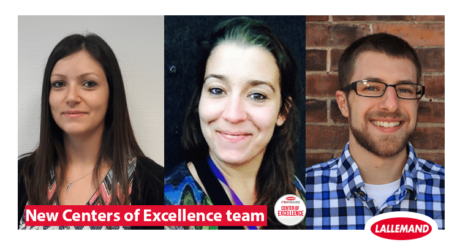 Lallemand strengthens its Centers of Excellence team