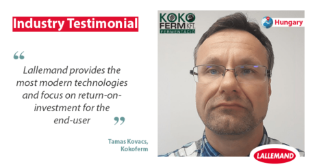 industry testimonial from kokoferm about their partnership with lallemand animal nutrition