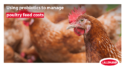 using probiotics to manage poultry feed costs