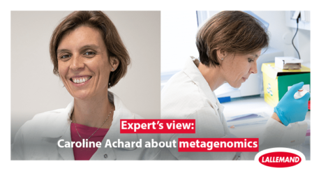 3 questions to Caroline Achard, Lallemand Animal Nutrition, on metagenomics