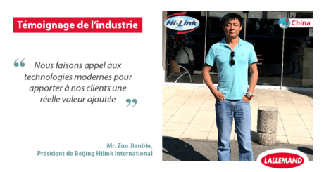 Mr. Zuo Jianbin, Beijing Hilink Internatinal Biotechnology