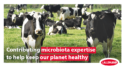 Contributing microbiota expertise to help keep our planet healthy